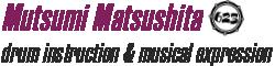 Mutsumi Matsushitaのロゴ